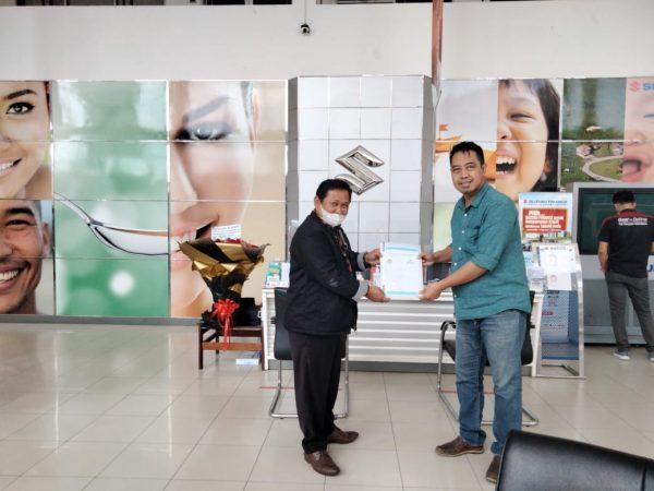 Penanda Tanganan dan Serah Terima MoU antara SMK Perintis Adiluhur dengan PT Persada Lampung Raya