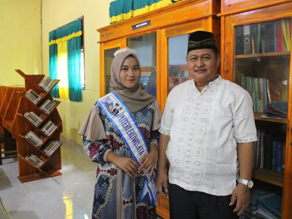 Finalis Ekowisata Lampung 2021 Bersama Kepala Sekolah SMK Perintis Adiluhur