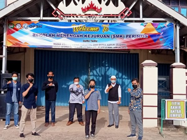 Program Guru tamu SMK Perintis Adiluhur  dengan  IIB Darmajaya Bandar Lampung